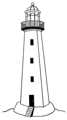 Lighthouse clip art clipartcow.