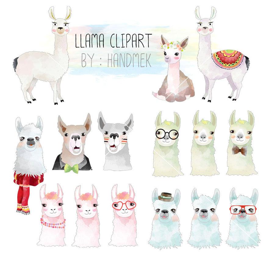 Llama art.