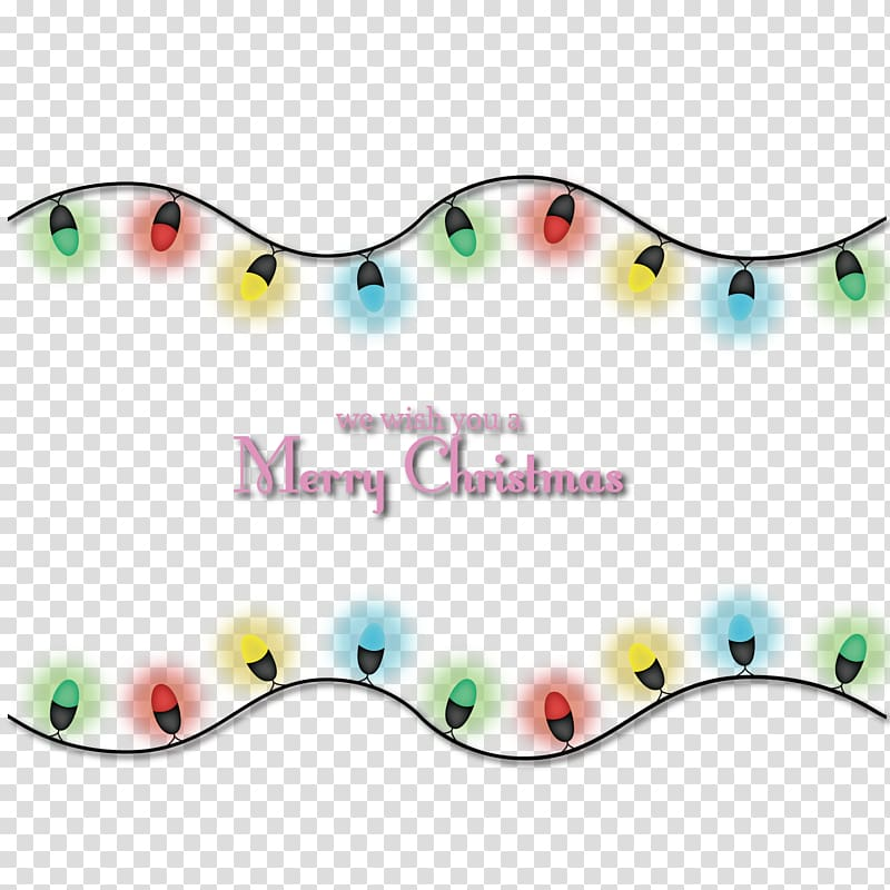 Strings lights with Merry Christmas text overlay, Christmas.