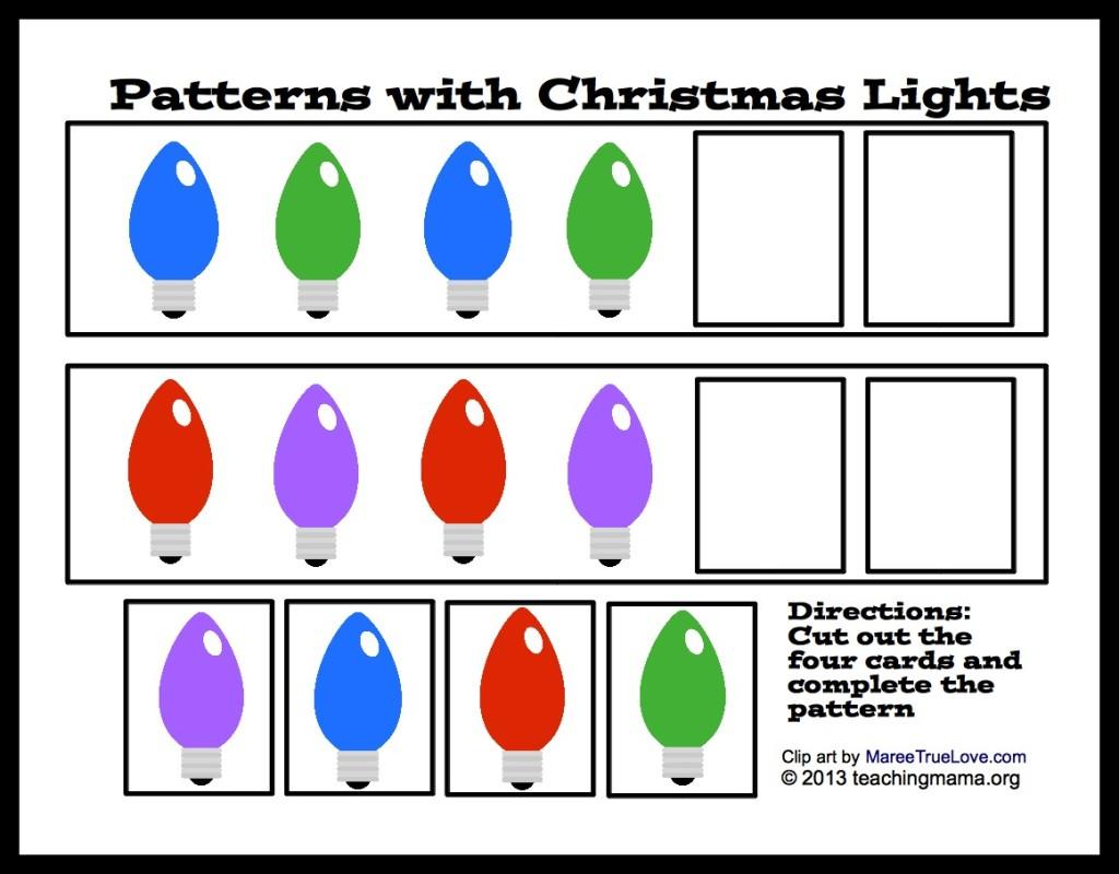 Light Clipart Pattern.