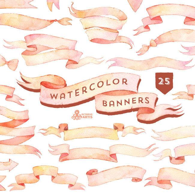 Vintage Clipart Art Light Pink.