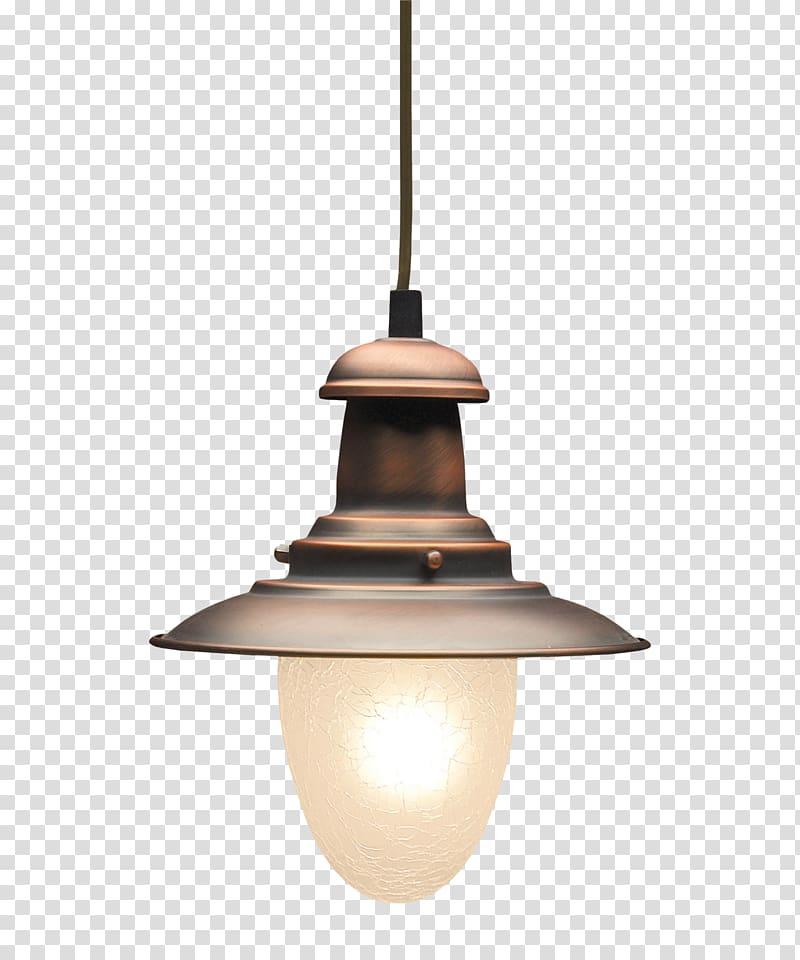 Gray and white pendant lamp, Lighting Pendant light Copper.