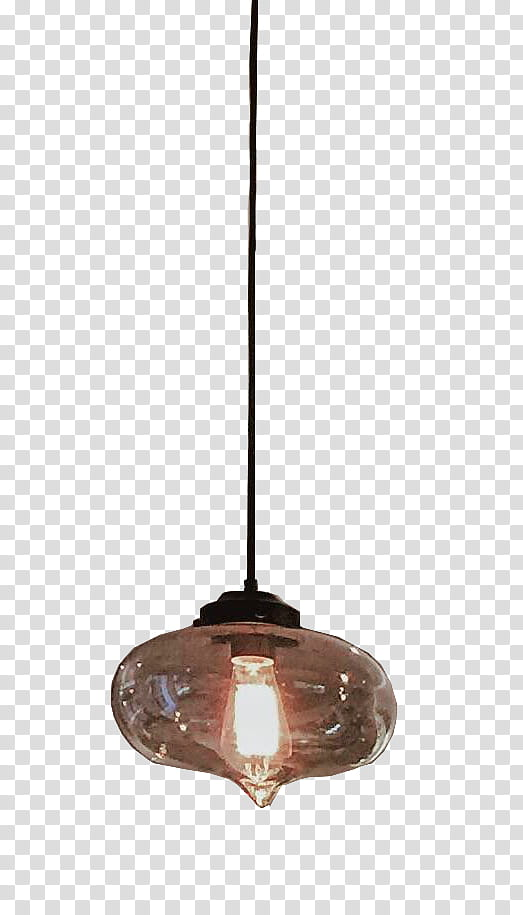 brown pendant lamp transparent background PNG clipart.