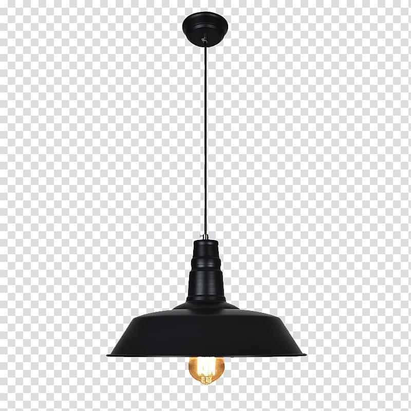 Black pendant lamp, Light fixture Pendant light Lighting.