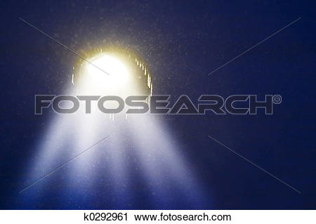 Clipart of Abstract Light k0292961.