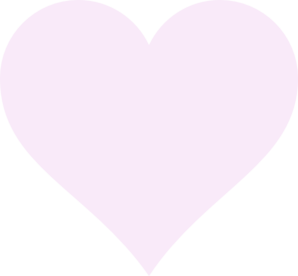 Light Pink Heart Clipart.