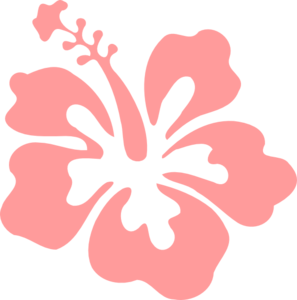 Light Pink Flower Clipart.