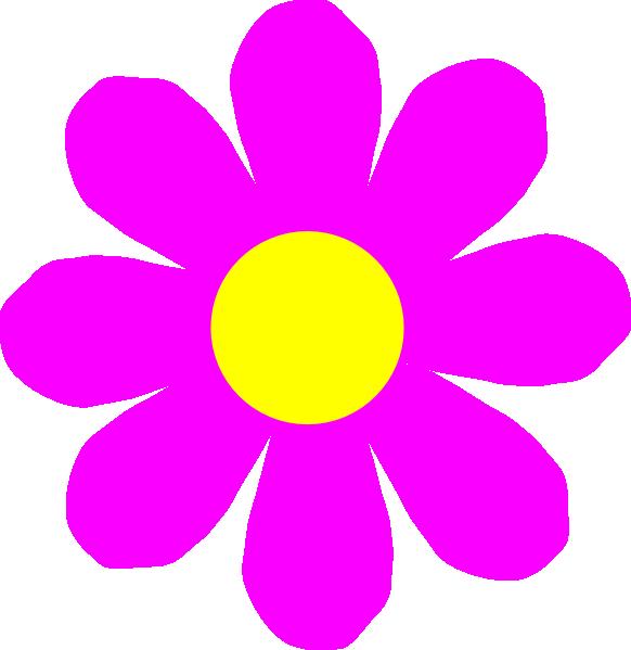 Light Pink Flower Clipart.