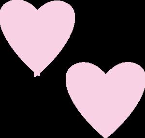 Light Pink Heart Clipart.