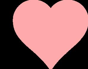 Baby Pink Heart Clip Art at Clker.com.