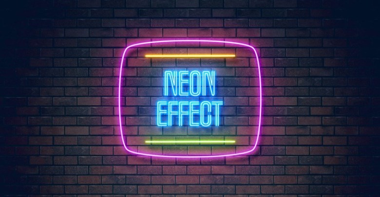 50+ Neon Effect light png download.