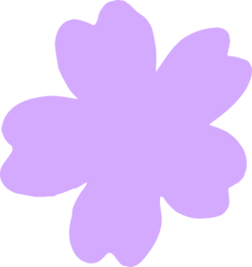 Light Purple Flower Clip Art at Clker.com.