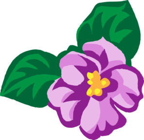 African Violet Light Clip Art at Clker.com.