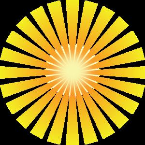 Golden Solar Rays Clip Art at Clker.com.