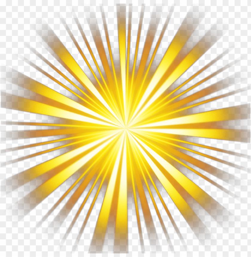 lightning yellow ray.