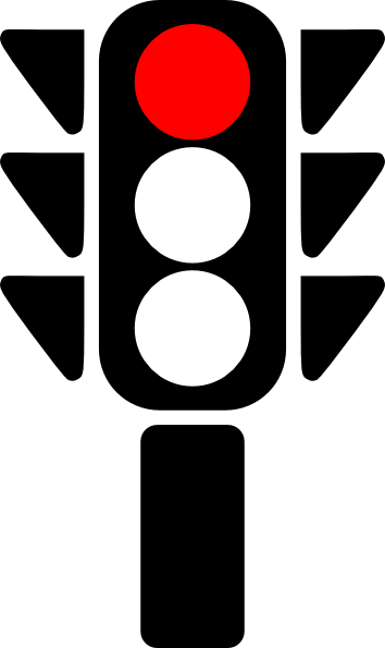 Red Stop Light.