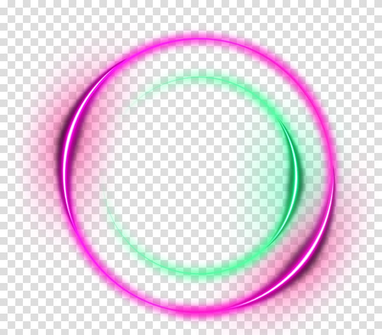 Purple halo light effect ring effect element transparent.
