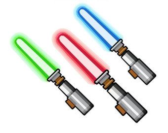 Star Wars Light Sabers Clipart Png.