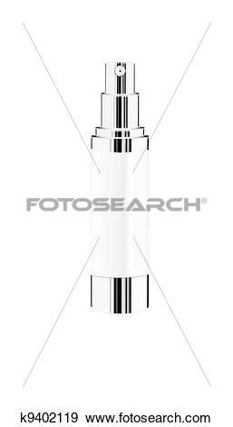 Stock Photograph of Light spray bottle isolated k9402119.