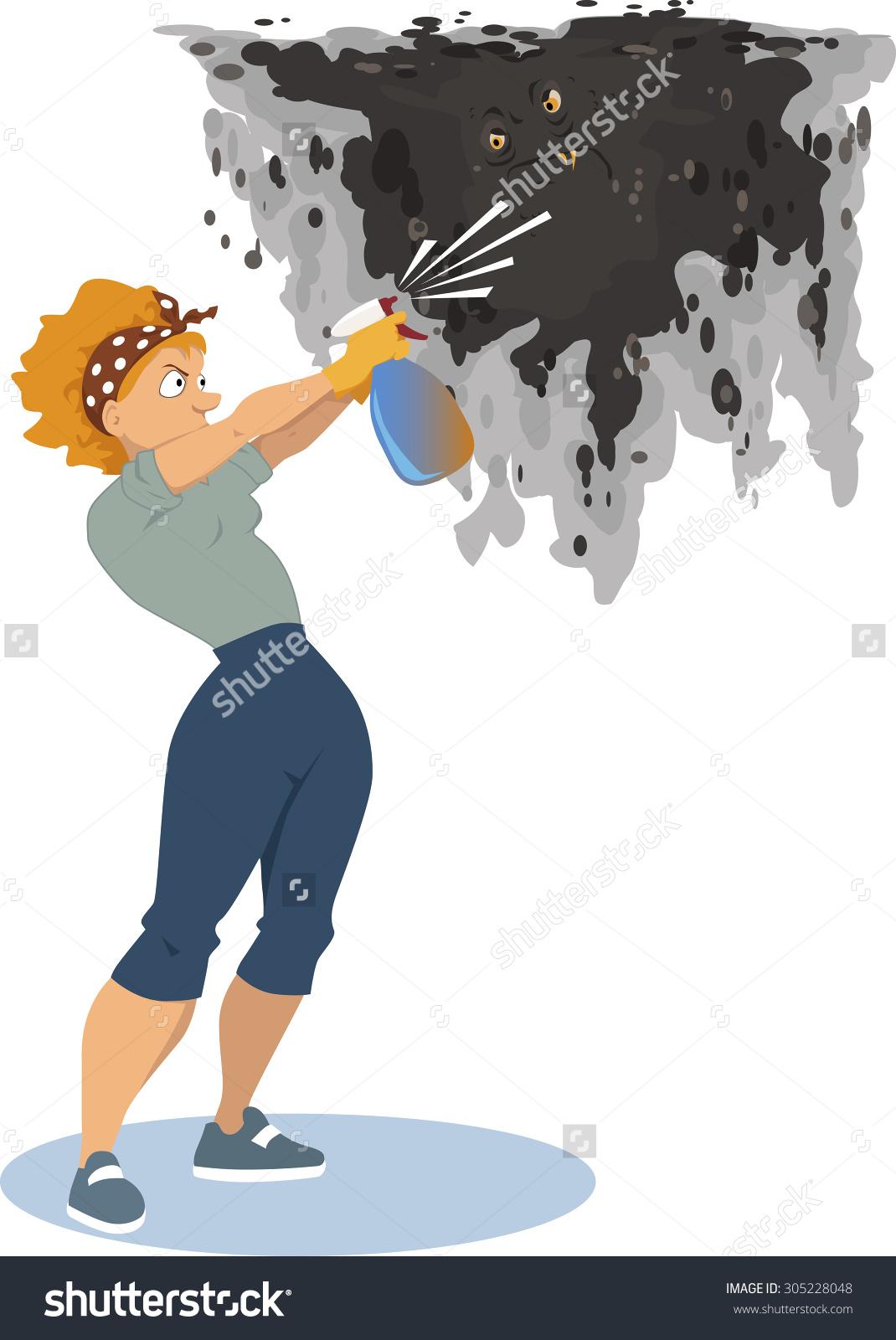 Clipart spray remover.
