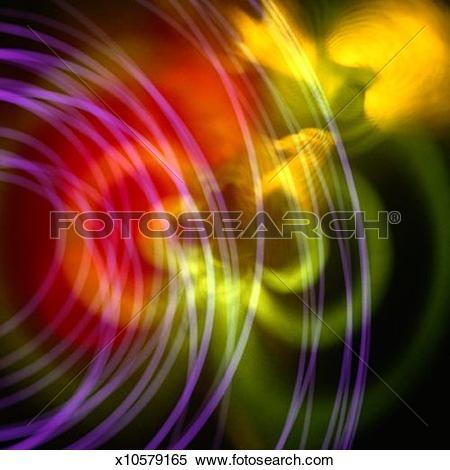 Stock Illustration of Radiant Light with Light Streak x10579165.