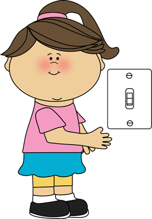 Light Switch Clipart.