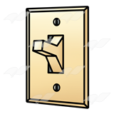 Clipart light switch.