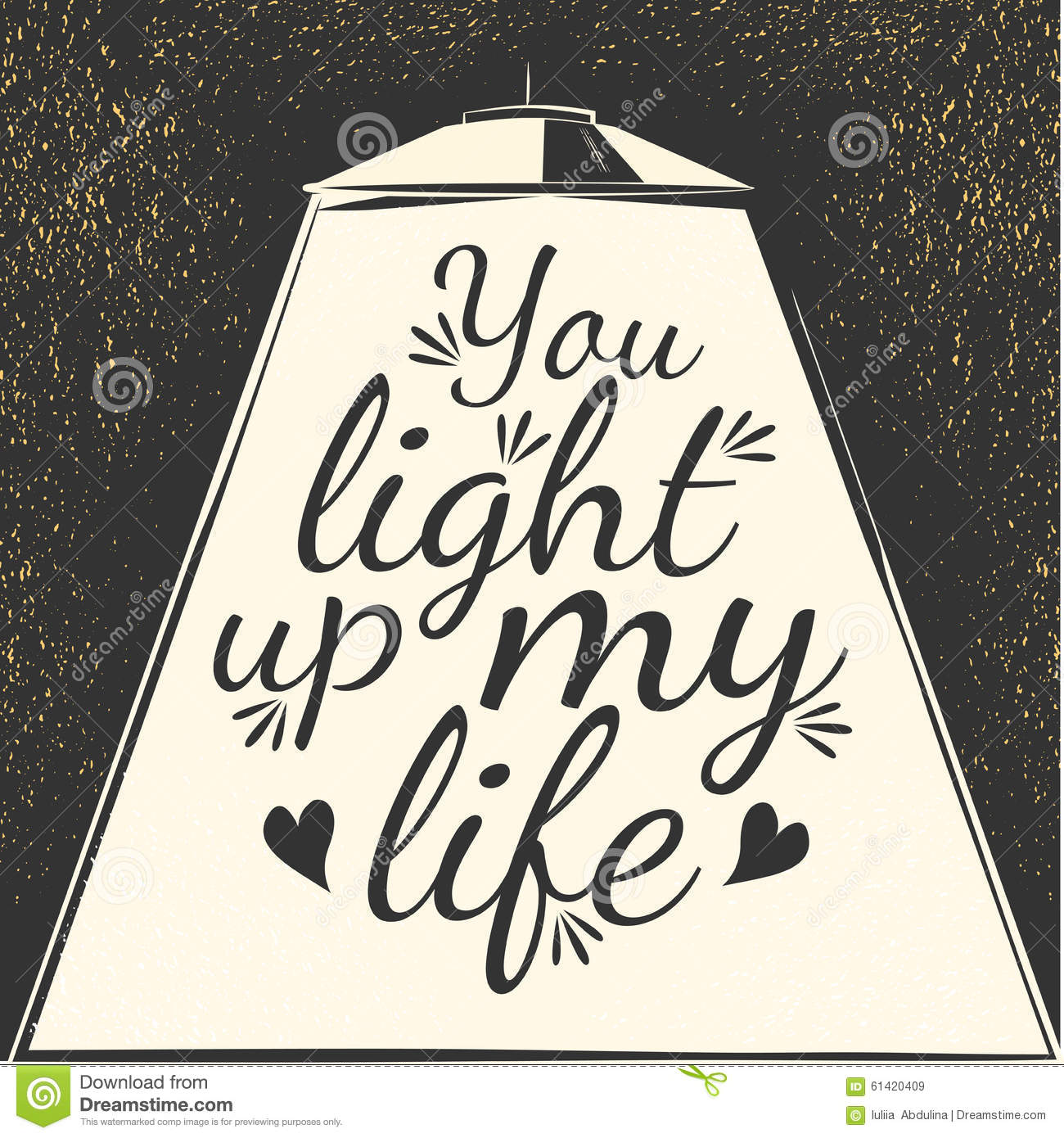 You Light Up My Life Clipart.