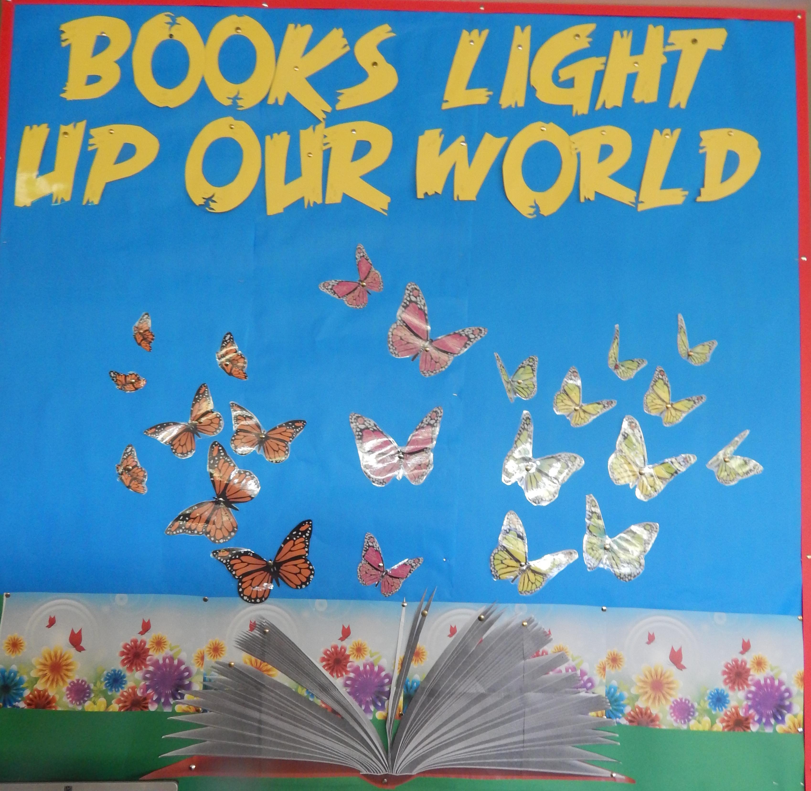 World light up clipart.