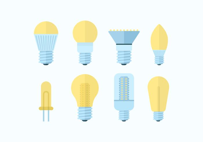 Free LED Lights Vector Pack.