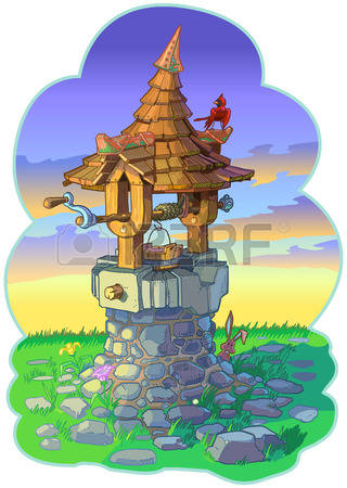 289 Wishing Well Stock Vector Illustration And Royalty Free.