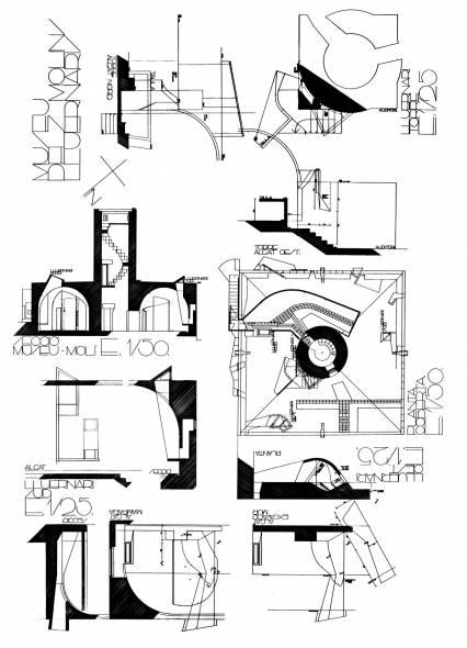 Museo de los Molinos' (archive of Flores Prats architectural projects).