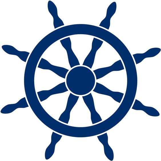 Ships Helm Clip Art.