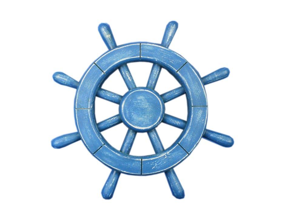 Blue Sail Wheels Clipart.