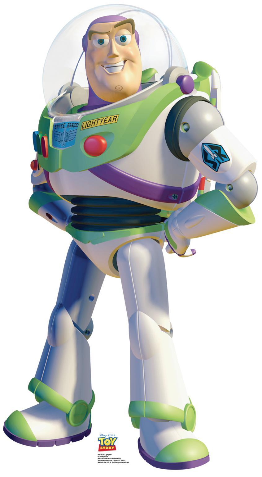 Buzz Lightyear Clip Art.