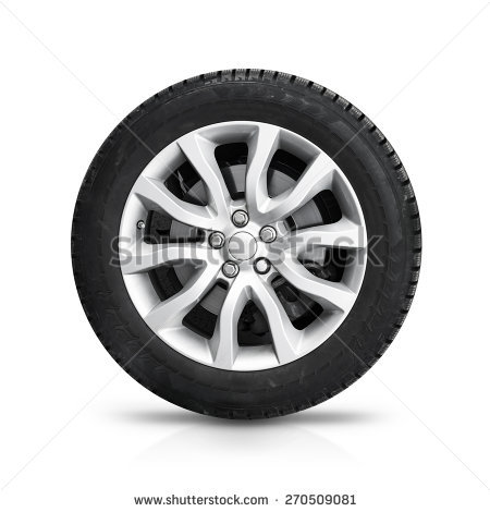 Car Wheel Stock Images, Royalty.