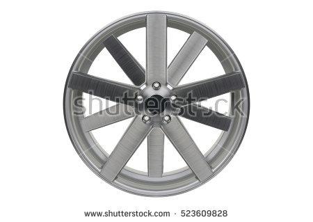 Alloy Wheel Stock Photos, Royalty.