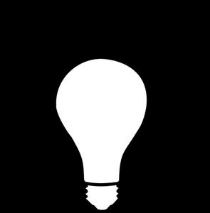 912 light bulb clip art image free.