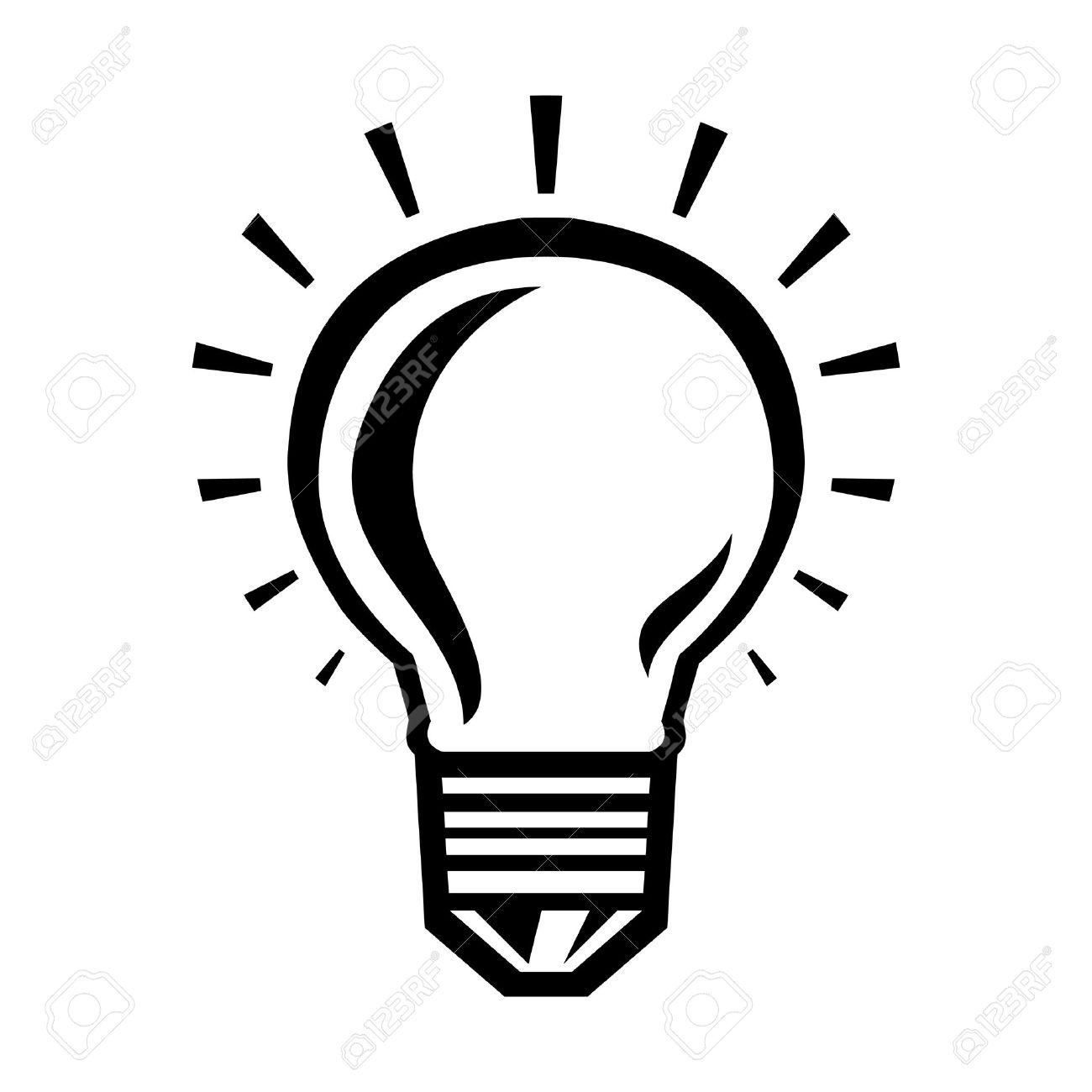 580 Lightbulb free clipart.