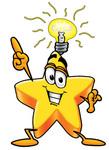 lightbulb thinking clipart #5