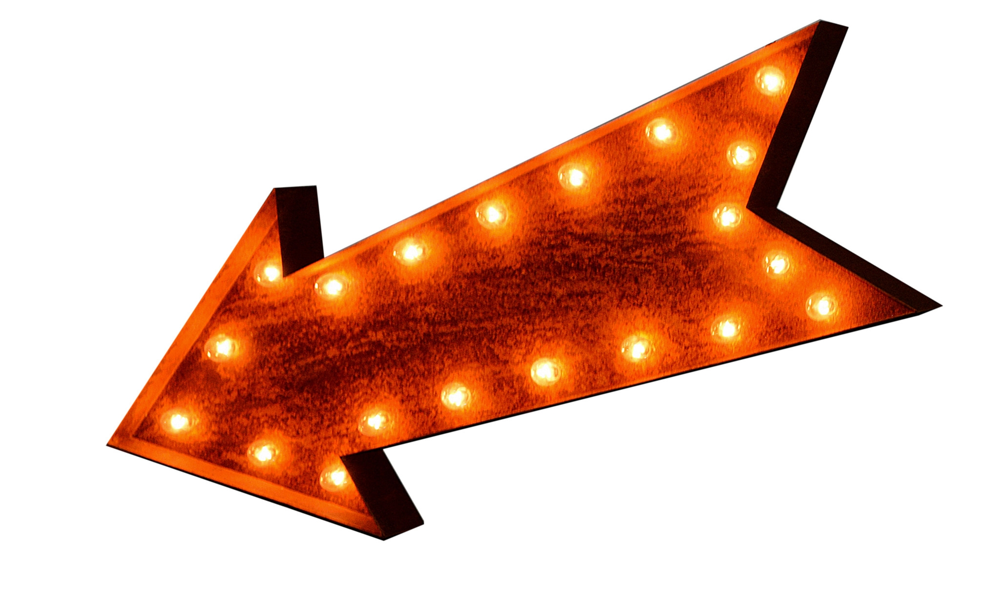 Lighted arrow clipart.
