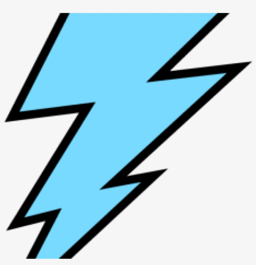 Lightning Clipart Blue.
