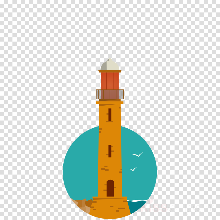 lighthouse tower beacon clipart.