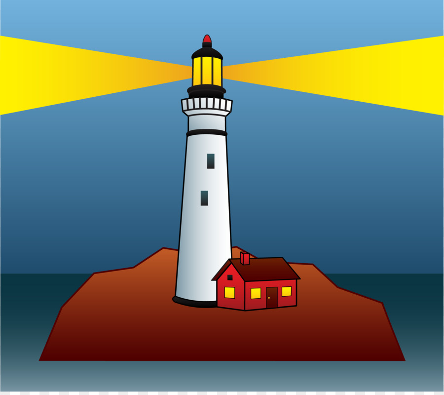 Lighthouse Beacon png download.
