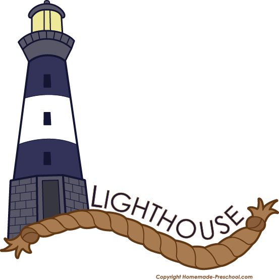 Free Lighthouse Clipart.