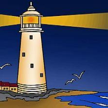 Nice lighthouse clip art.