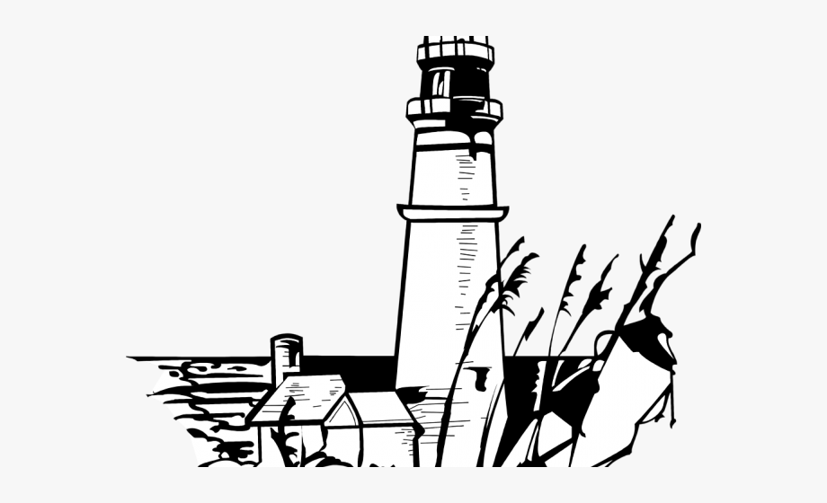 Lighthouse Clipart Illustration.