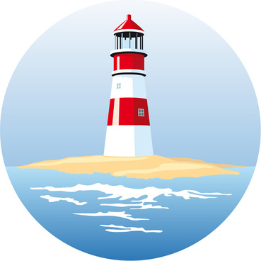 Vector lighthouses for free download about (42) vector.