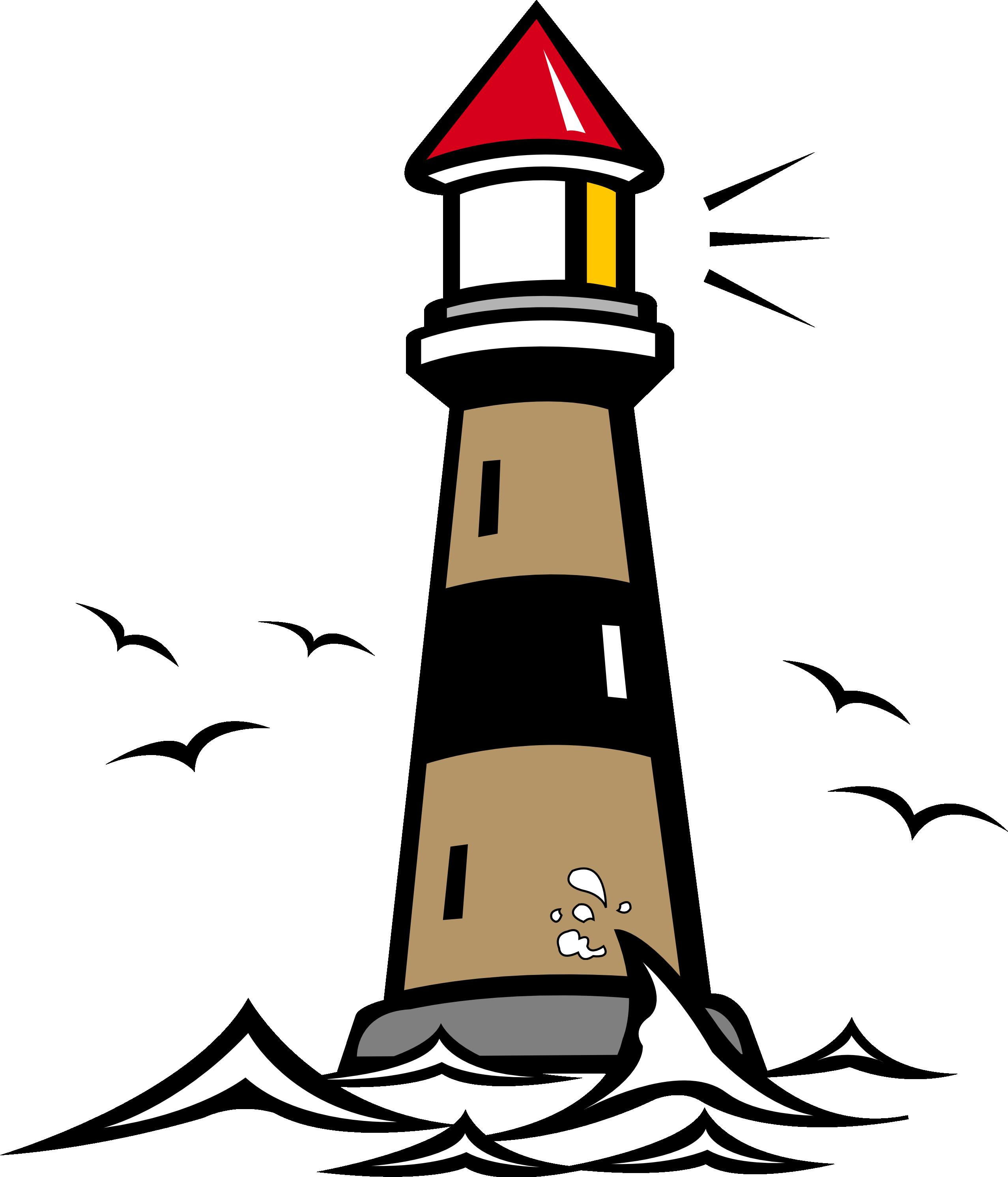 Lighthouse Vector.