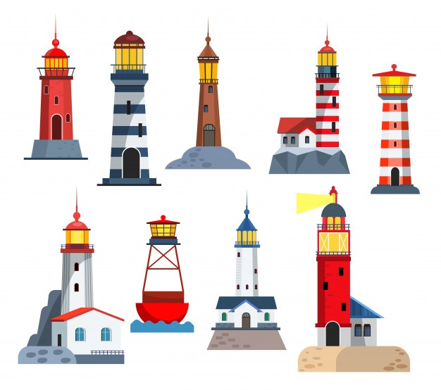 Lighthouse Vectors, Photos and PSD files.